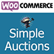 WordPress woocommerce auctions