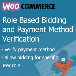 Simple Auction Role Based Bidding and Payment Method Verification