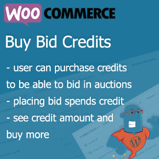 Simple Auction Buy Bid Credits